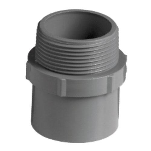 PVC Adaptor M&M 11/2 X 50mm