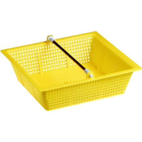 Weir Basket Square Yellow 9×9