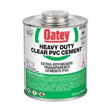 PVC Cement Heavy Duty Clear 237ml Oatey